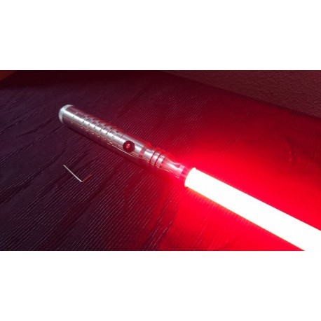 UltraSaber Stunt Grab Bag Silver Hilt+Red Led