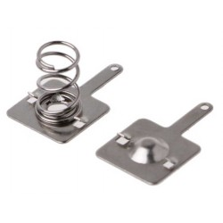 Battery Spring and Plate Set